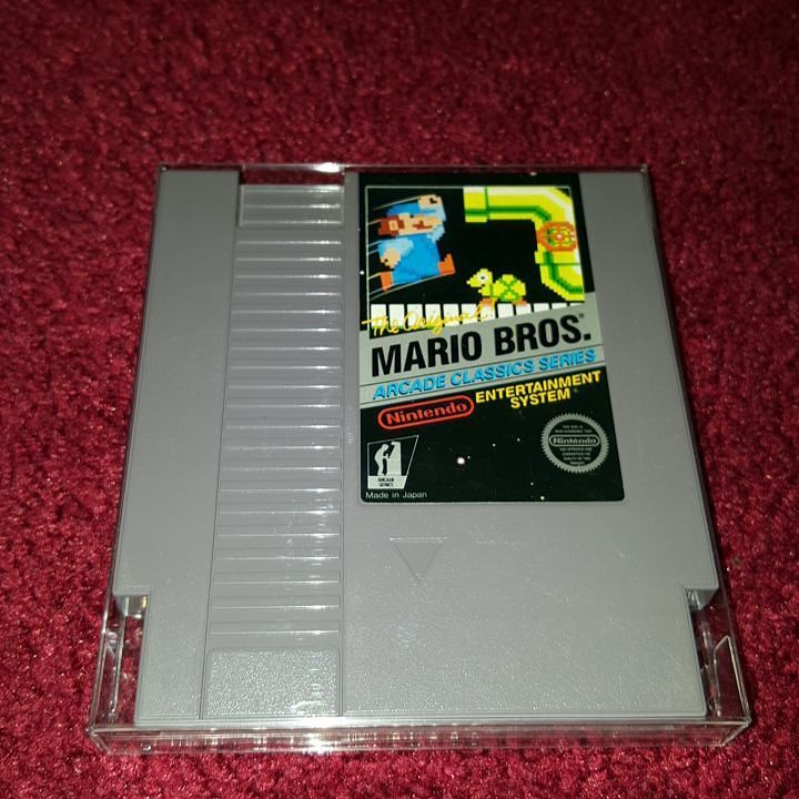 On instagram by luckysal76 #retrogaming #microhobbit (o) http://ift.tt/1TBPolh this game Mario Bros. Arcade Classic Series #nintendo #nin10do #nes  #retrocollector #retro #mariobros #arcadeclassicseries #arcade
