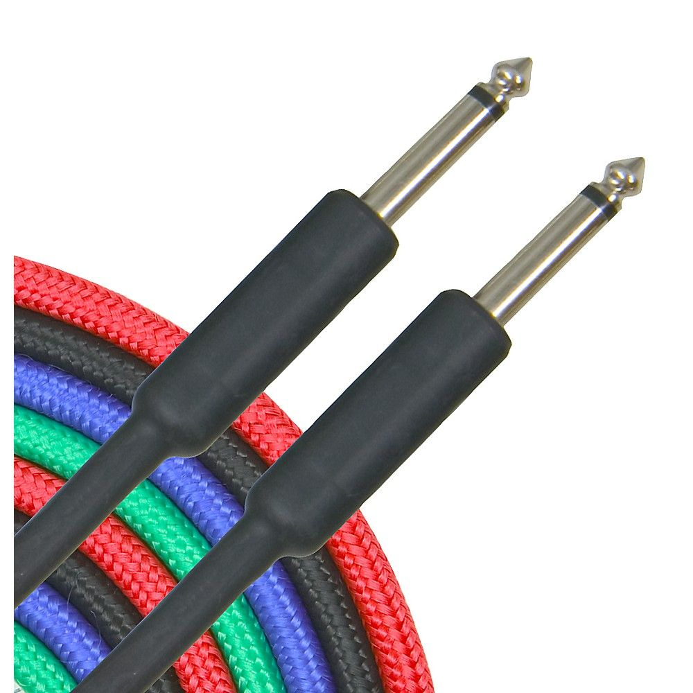 musician\u0027s gear braided instrument cable 1 4\