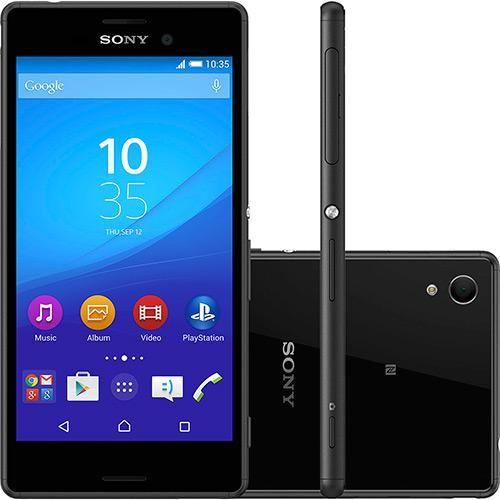 """Sou Barato Smartphone Sony Xperia M4 Aqua Dual Android 5.0 Tela 5""""16GB Câmera de 13MP --> R$ 1.099 < Até sem J"""