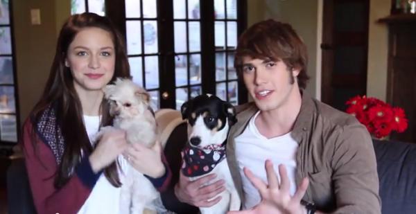 Pin By Glee On Glee Part 2 Blake Jenner Melissa Benoist Glee Season 5