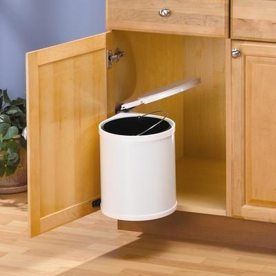 Knape Amp Vogt Trash Master Waste Bin Tm13 R W Home