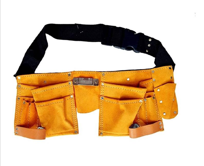 Personalised 11 Pocket Tool Belt Leather Tool Belt Gifts For Diy Dad Gifts For Him Birthday Christmas Fathers Day Monday Cyber In 2021 Leather Tool Belt Tooled Leather Bag Leather Tooling