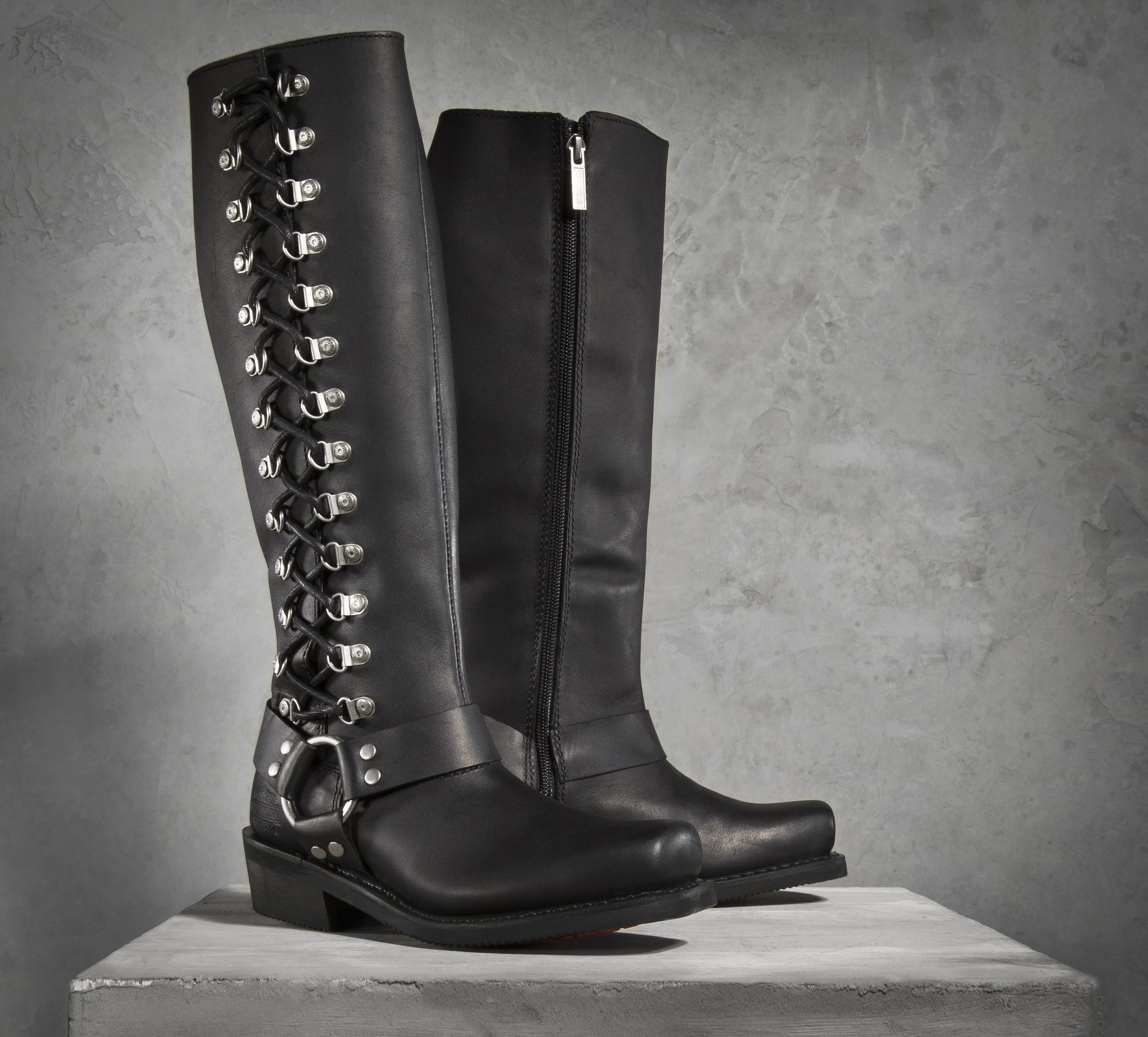 Awesome Get Beautiful Harley Davidson Boots For Women In Your Collections - StyleSkier.com