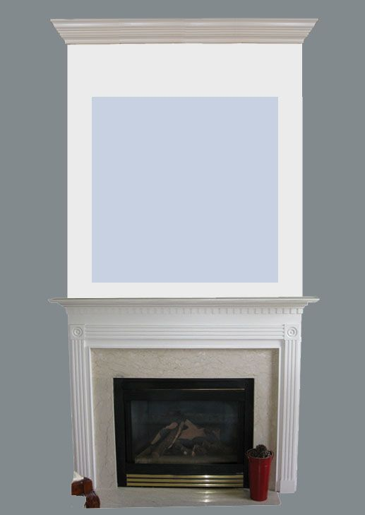 Adding Visual Interest and Height to your Fireplace Condos