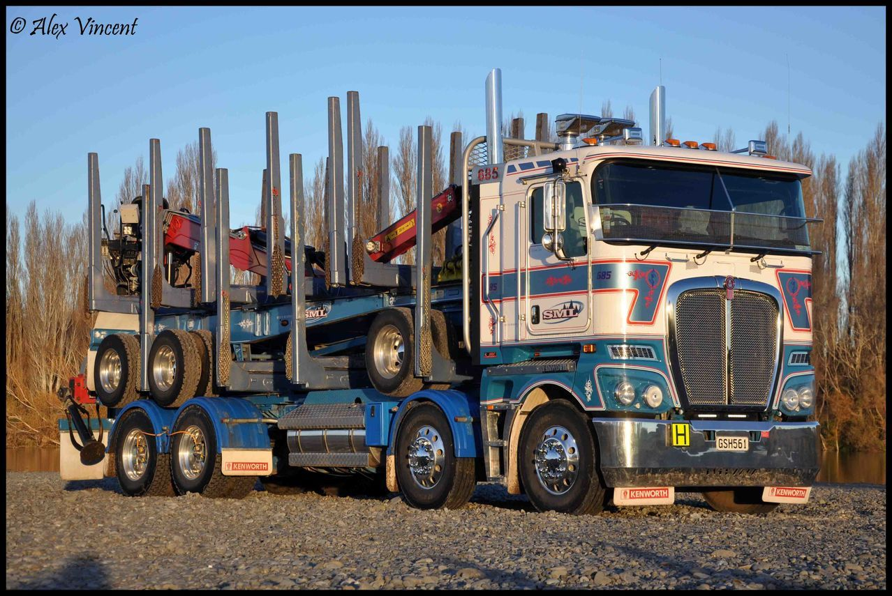 bill sml steve murphy limited runs a fleet of loggers