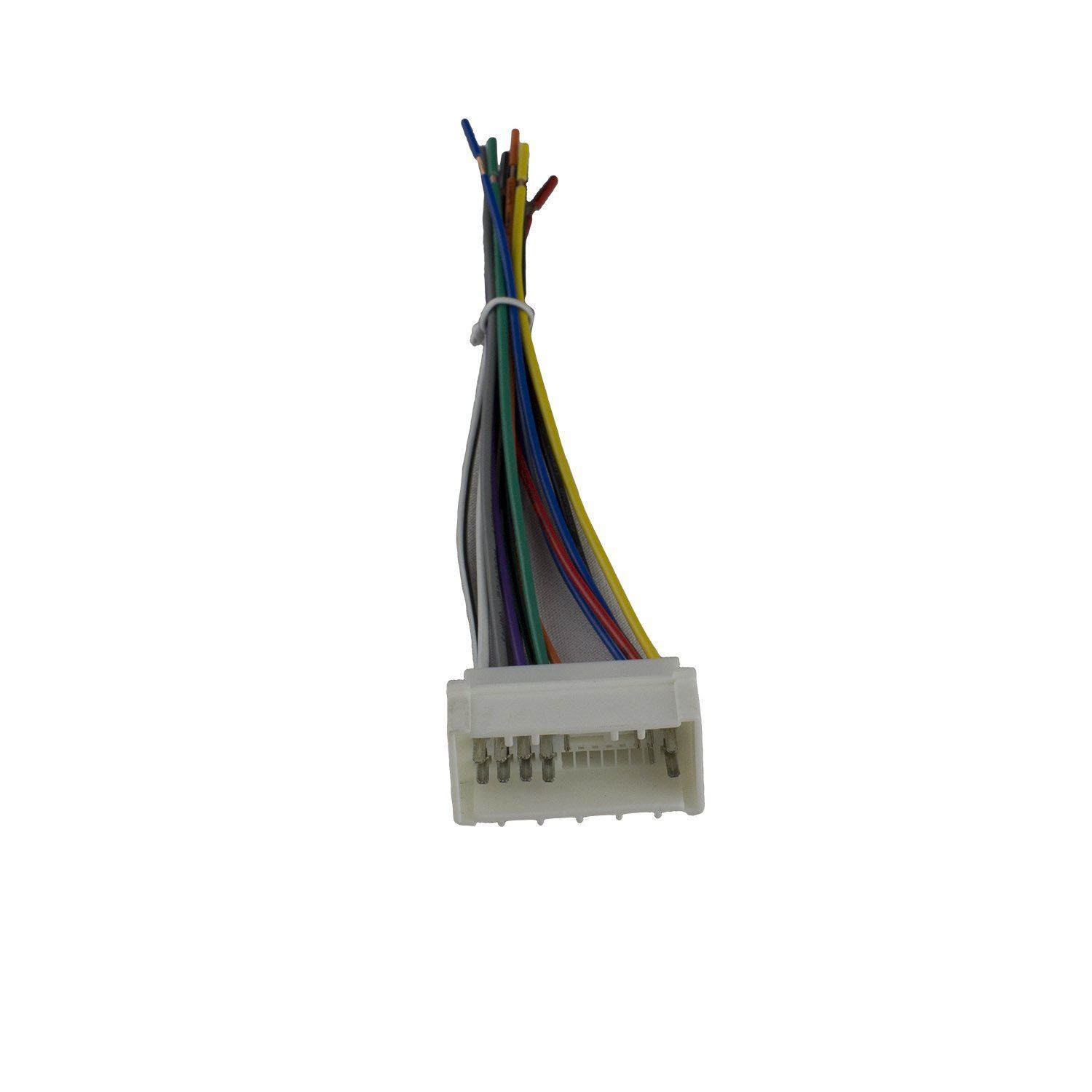 small resolution of novosonics haf 1106 car stereo wiring harness for hyundai kia 2006 2008 fits existing connector in your vehicle no cutting existing car wiring required