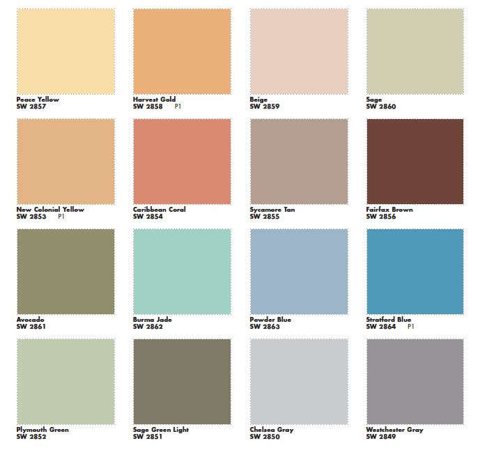 Mad For Mid Century: Suburban Mid Century Paint Colors Interior And  Exterior Check Out The Website For Part 16