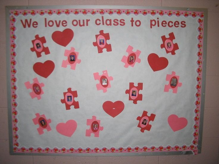 Pre K Bulletin Boards For February | February Bulletin Board | February;  Valentine%