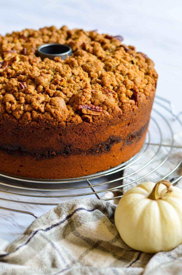 pumpkin streusel coffee cake Streusel coffee cake