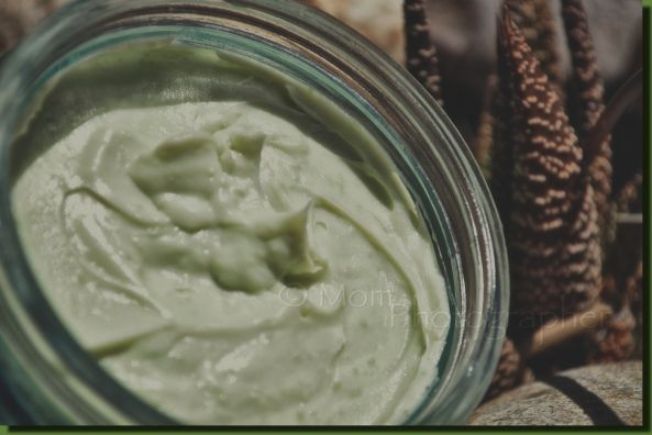 All natural green tea face cream