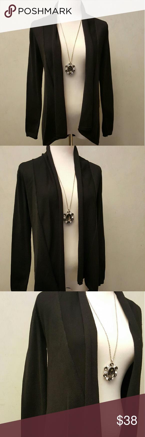 Zara basic black cardigan | Conditioning, Zara black and Black