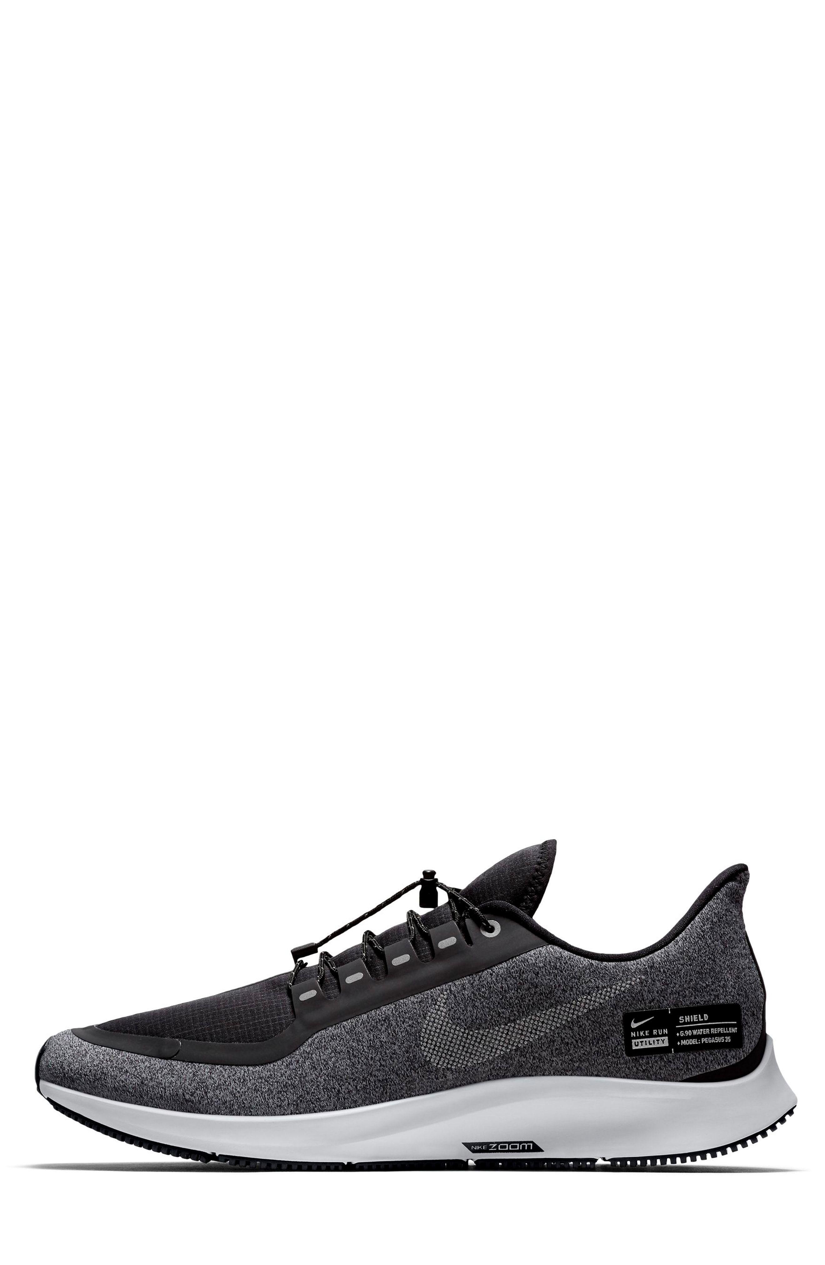 Nike Air Zoom Pegasus 35 Shield Water Repellent Running Shoe Men Running Shoes For Men Shoes All Black Sneakers