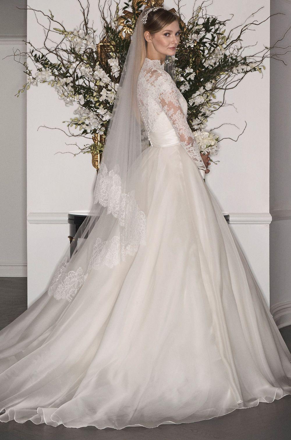 L7170-L7125BLOUSE | LEGENDS Romona Keveža Fall 2017 | Wedding Bells ...