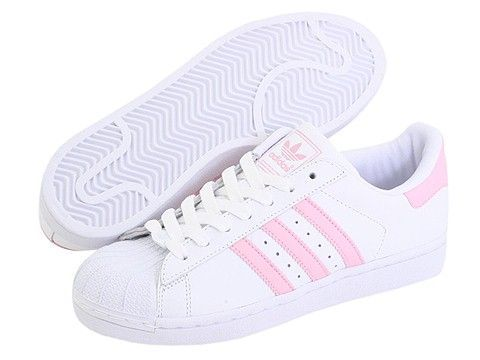 Tendance Chausseurs Femme 2017 - Adidas Originals Superstar 2 in baby pink...  - FlashMag - Fashion & Lifestyle Magazine. Pink Adidas ShoesStriped ...