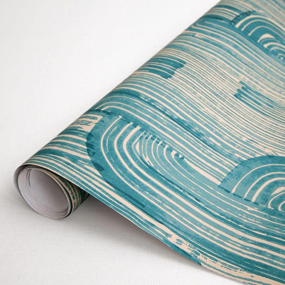 Crescent wallpaper Geometric wallpaper, Kelly wearstler