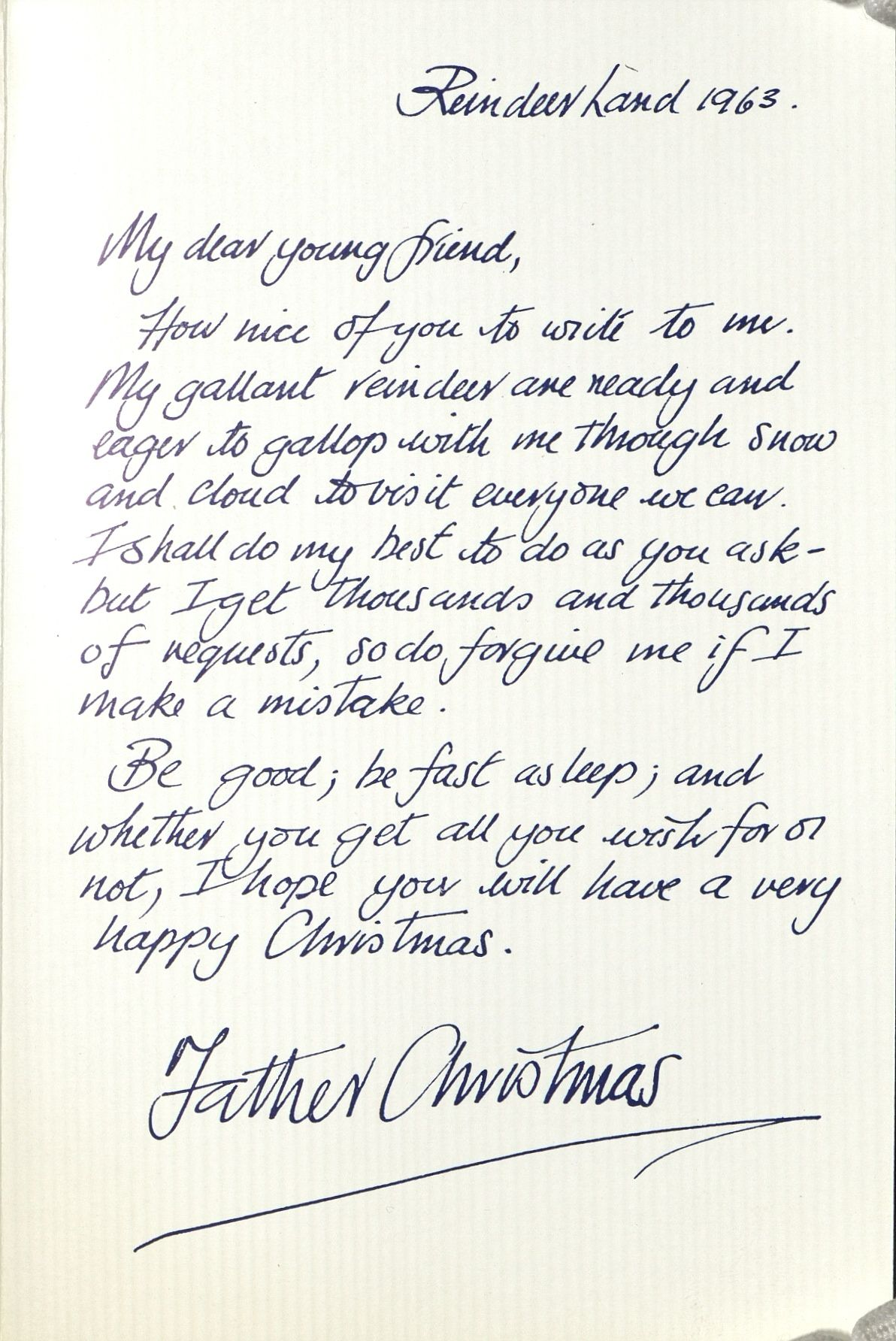Dear santa the history of writing to father christmas royal mail dear santa the history of writing to father christmas creative review letter from santafather christmaschristmas ideasroyal maildear spiritdancerdesigns Images
