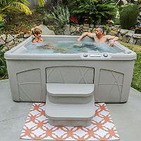 lifesmart spa ls350dx plug u0026 play hot tub