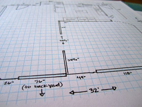 How To Draw A Floor Plan. To Help Me Lay Out My Kitchen