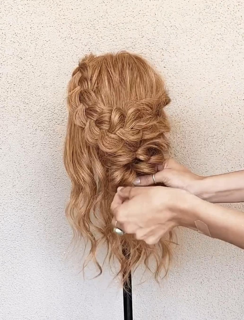 Hair By Kaelyn Christine | half up half down braid