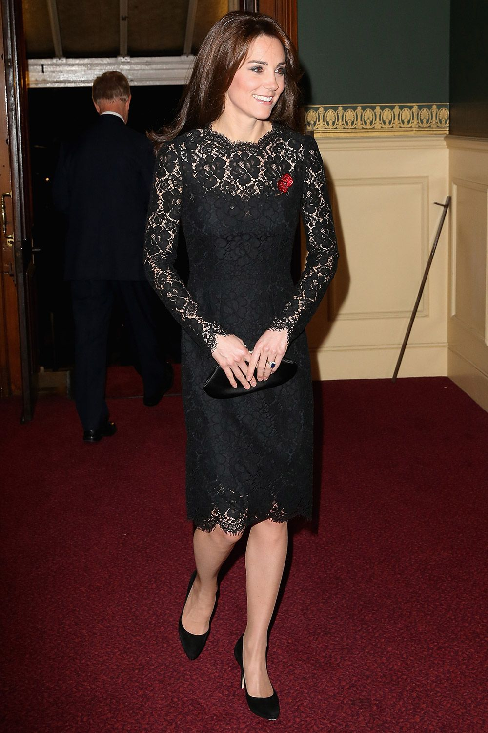 11.07.15  Kate Middleton in Dolce & Gabbana at Royal Albert Hall for Annual Festival of Remembrance
