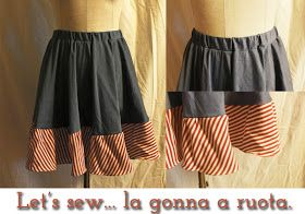 -Storm in a TeaCup-: Let's sew: la gonna a ruota senza lampo!