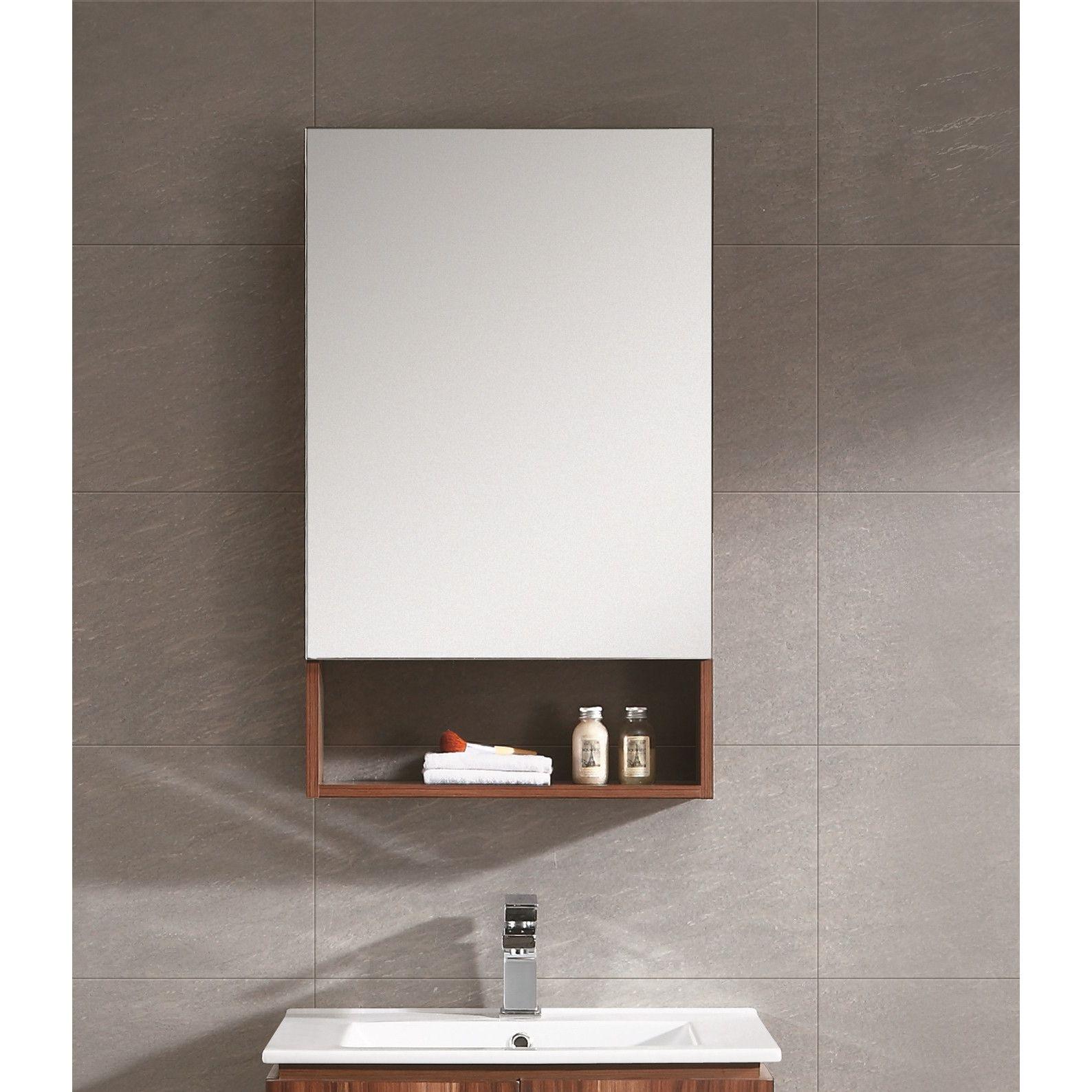 Modern Medicine Cabinets Allmodern Bathroom Mirror Cabinet