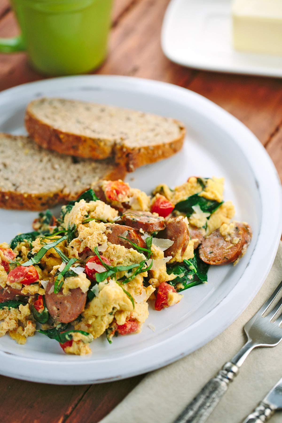 Photo of Breakfast Scramble with Italian Sausage