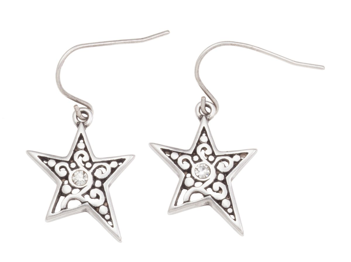 Grace Adele #Jewelry Silver Star #earrings (With Images