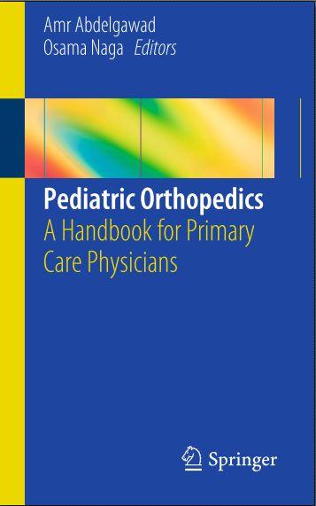 Pediatric Orthopedics- A Handbook for Primary Care [PDF ...