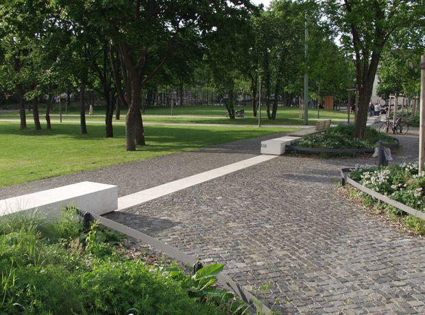Landschaftsarchitekten München georg freundorfer platz munich levin monsigny