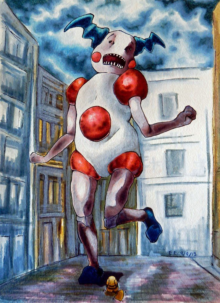 (Day 6) EVEN MORE PROOF OF THE TERROR THAT IS MR. MIME. Look at how EASILY it resembles a Titan!!!!!!!! {Attack on Titan: Mr.Mime by zsparky}