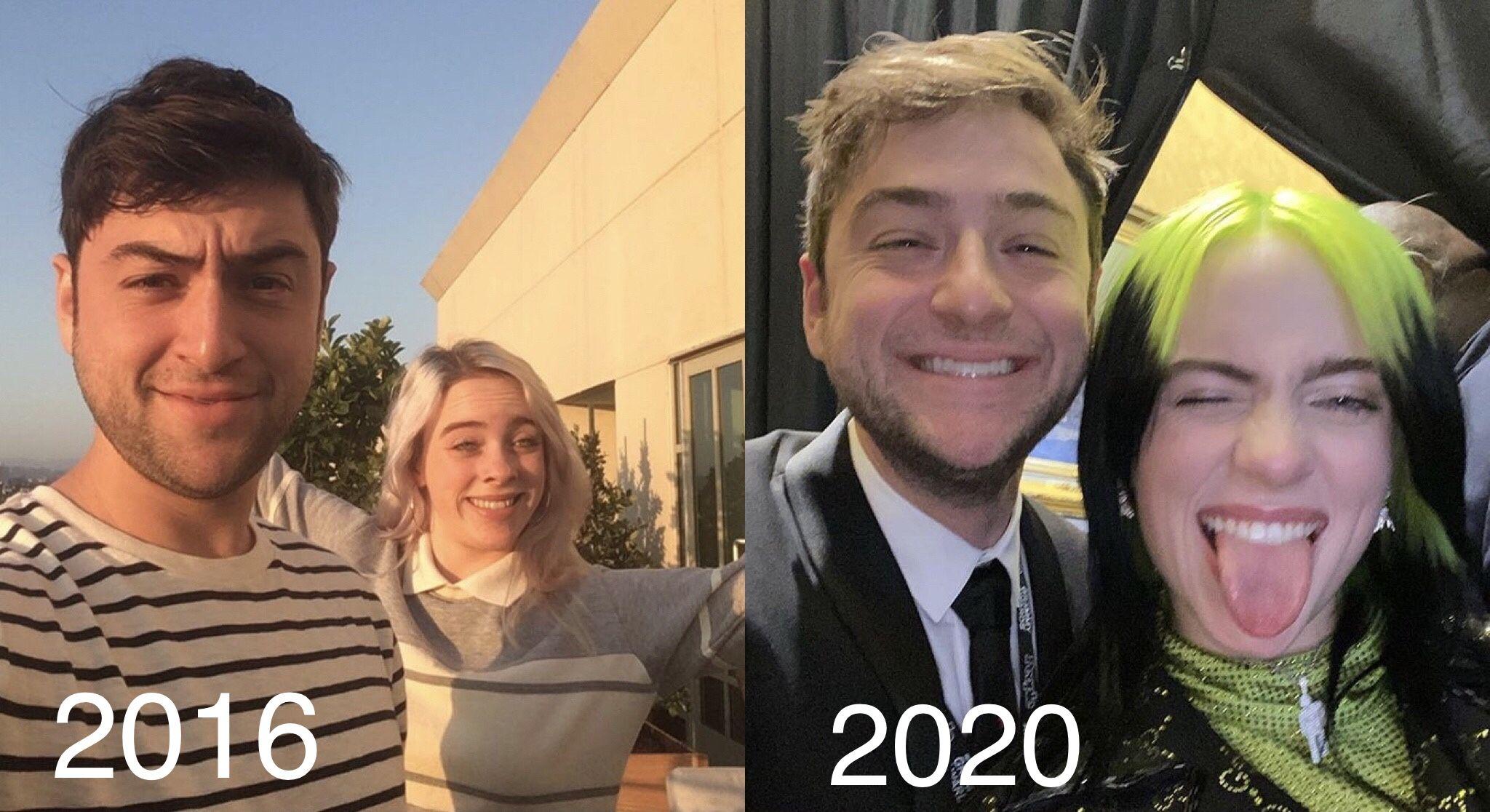 Billie And Justin Lubliner In 2020 Billie Billie Eilish Justin