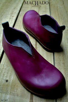 Machado Handmade purple shoes