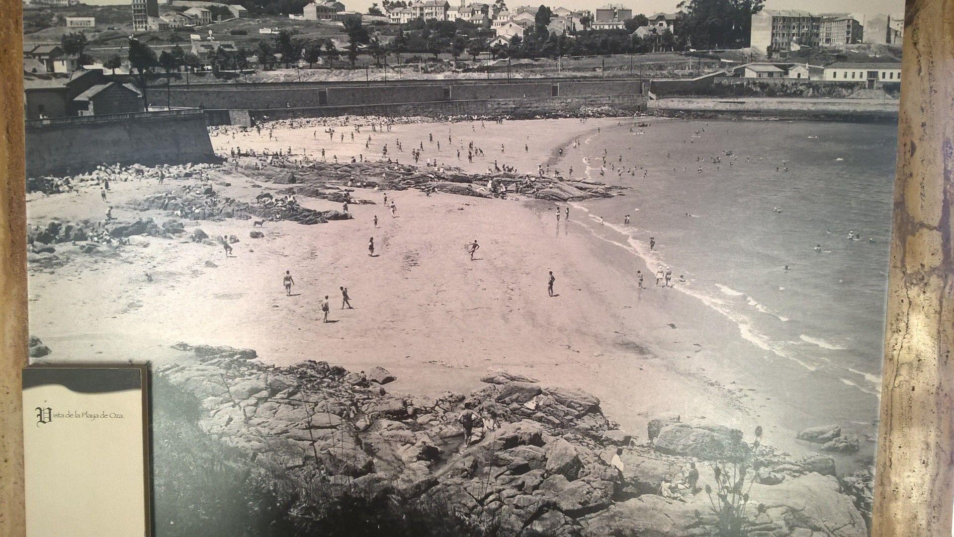 Playa De Lazareto A Coruña A Coruña Fotos Antiguas Fotos