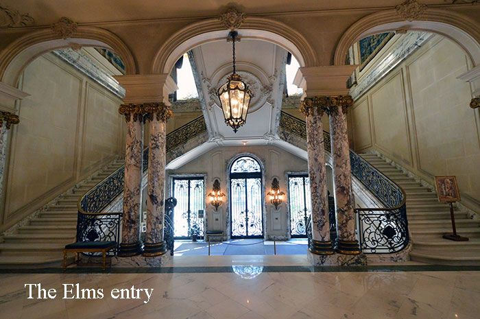 Newport Mansion Staircase The Elms Staircases