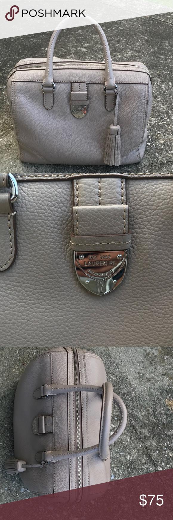 I just added this listing on Poshmark  Lauren Ralph Lauren leather bowler  bag with tassel.  shopmycloset  poshmark  fashion  shopping  style  forsale  ... bef6646ab9