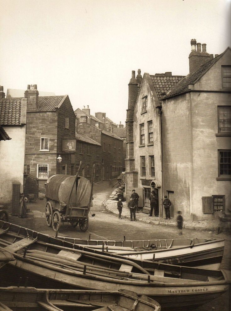 Robin Hood's Bay - North Yorkshire - England - Late 1800s: