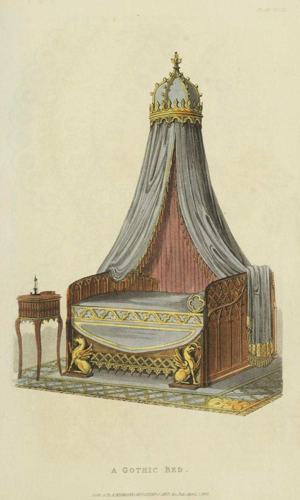 Regency Furniture 18231828 Ackermann's Repository Series