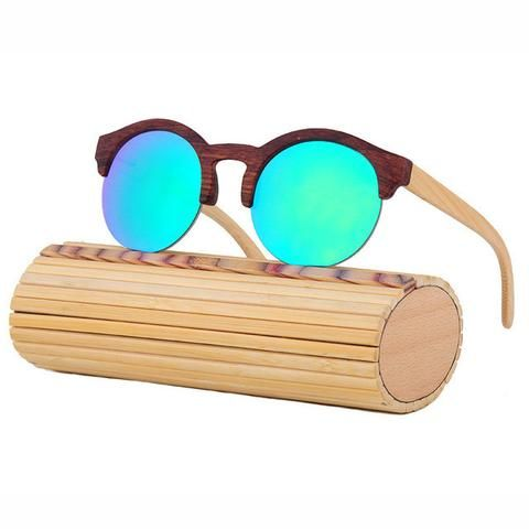 58a1d9bf167 Bamboo Sunglasses Female Vintage Half Frame Women s Accessories Awesome  Summer Natural Wooden Sunglasses Shops Fashion Styles Website
