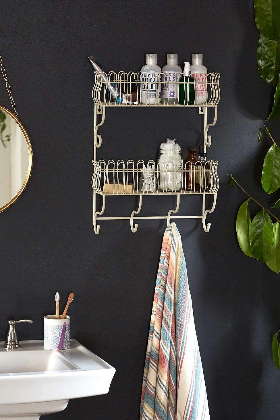 Plafonnier Salle De Bain Brico Depot ~ Abigail Wire Shelf D Co Pinterest Fils Premi Re Maison Et