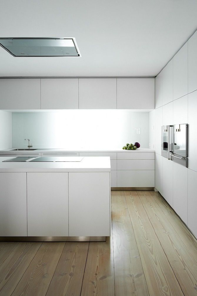 interior design #kitchen #white Closet Pinterest Cocinas - Cocinas Integrales Blancas