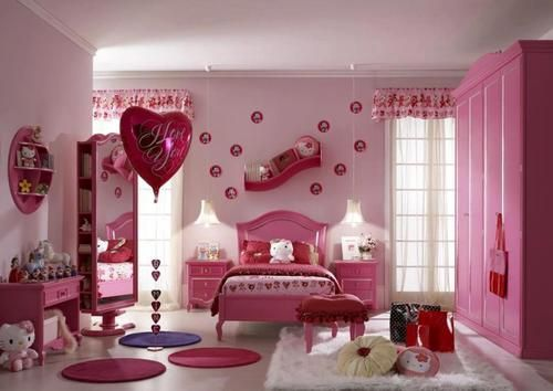 Here Is Cute Hello Kitty Bedroom Accessories Theme Ideas For Girls Photo  Collections At Teen Bedroom Design Gallery. More Picture Hello Kitty Bedroom  ... Part 89