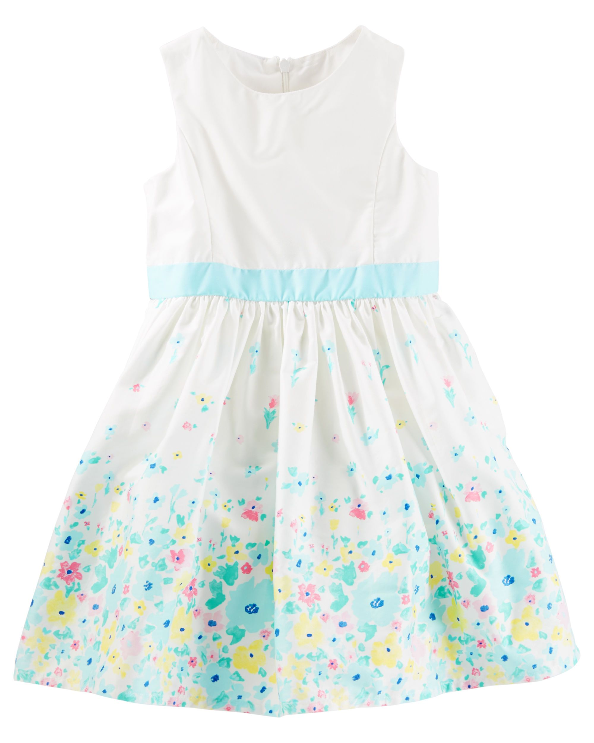 da615d46c Kid Girl Floral Border Print Dress from OshKosh B'gosh. Shop clothing &  accessories from a trusted name in kids, toddlers, and baby clothes.