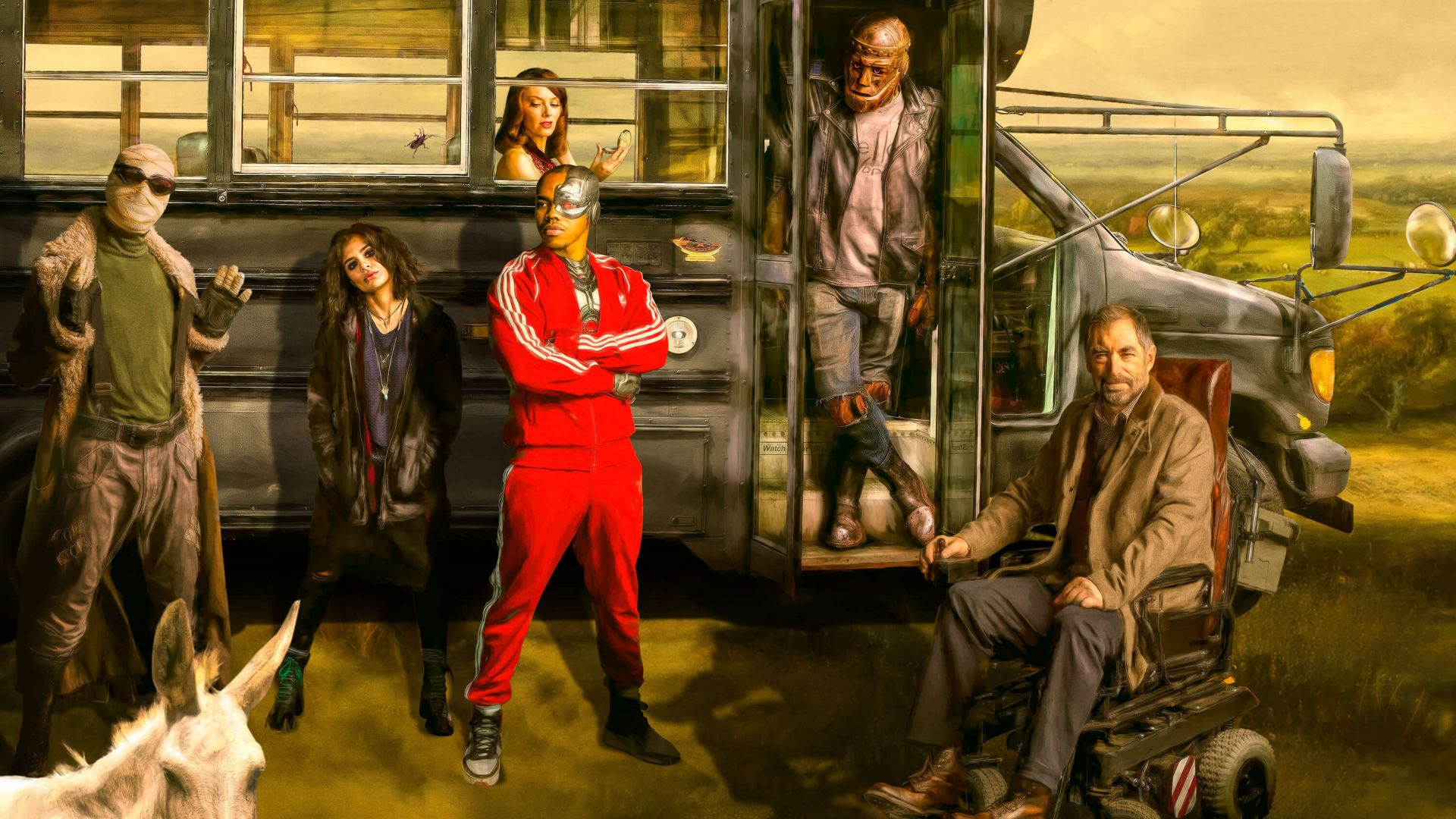 Series de Televisión Doom Patrol Negative Man Crazy Jane