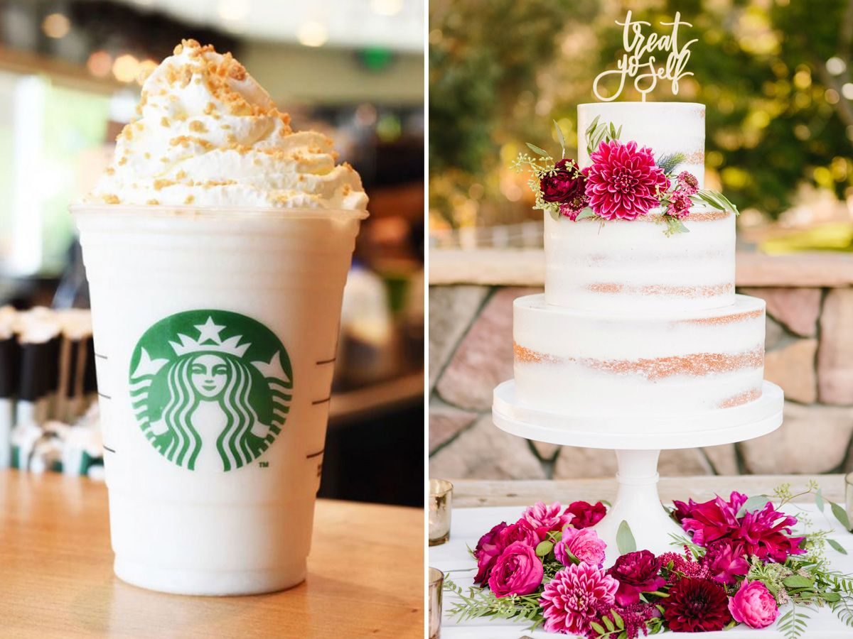 Find your wedding cake flavor based on your starbucks