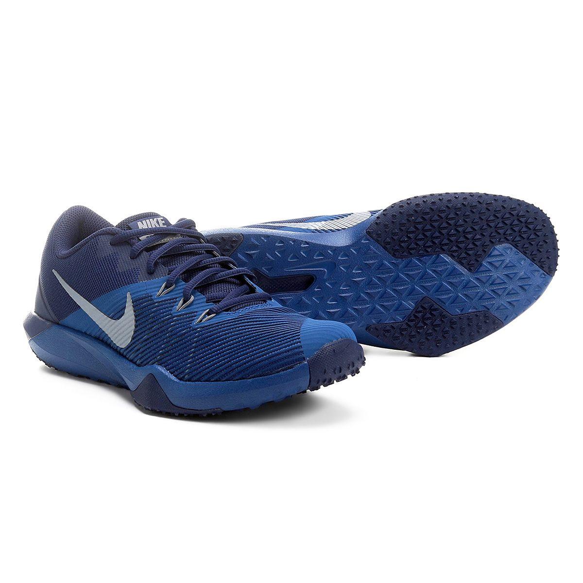 e1390dc17f8 Tênis Nike Retaliation TR Masculino Azul e Cinza
