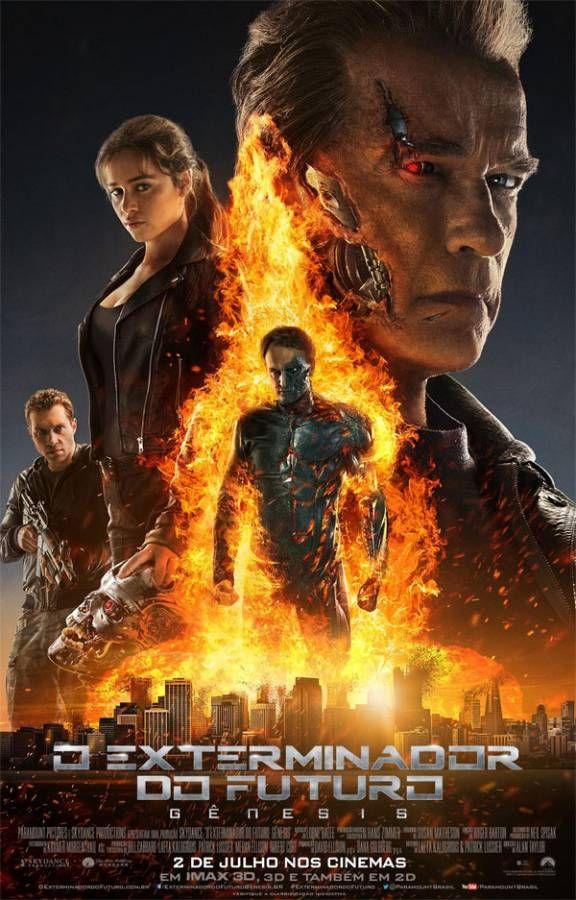 O Exterminador Do Futuro Genesis Posteres De Filmes Capas De