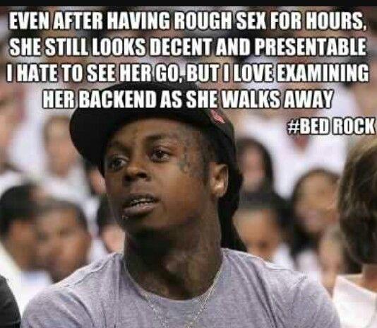 Gotta respect a woman like that. I do mine.