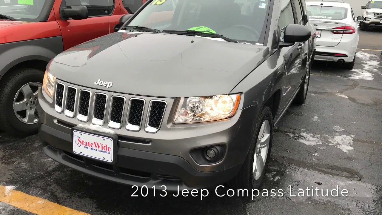 Jeep Compass Latitude Here At Statewide Ford Lincoln In Van Wert