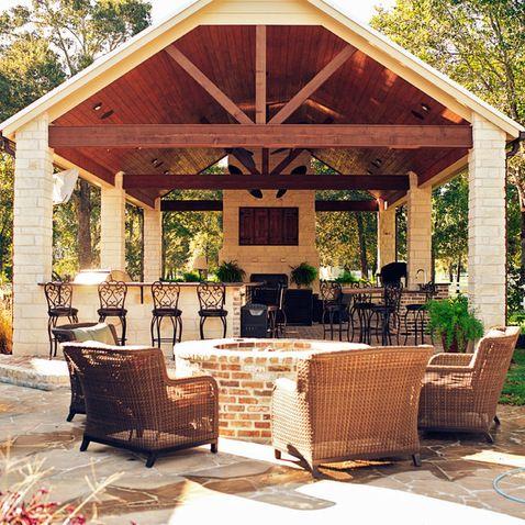 Outdoor Pavilions Design Ideas Pictures Remodel And Decor Page 34 Outdoor Pavilion Outdoor Kitchen Patio Patio Design